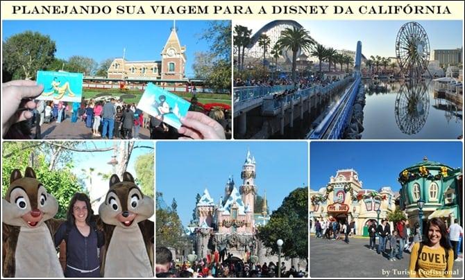 Planejando sua viagem para a Disney da Califórnia