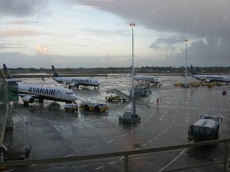 viajar de avião pela europa