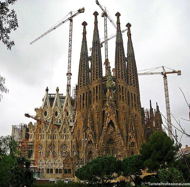 sagrada familia - Roteiro de um dia em Barcelona