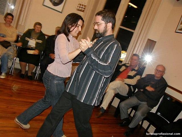 Aula de tango em Buenos Aires