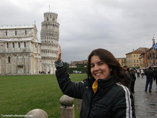 turista profissional - Passeando por Pisa, Itália