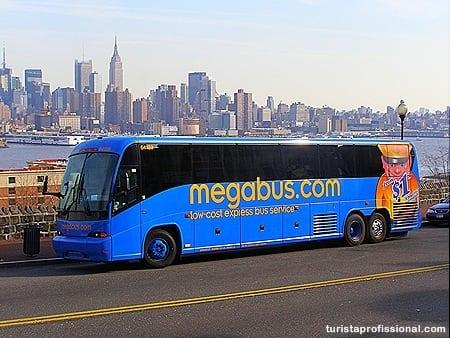 Megabus: viagem barata