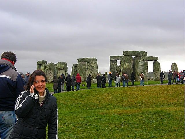 como chegar em stonehenge
