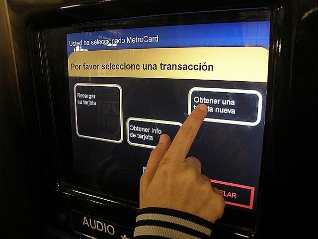 P1200227 - Como comprar o passe de metrô e ônibus em Nova York