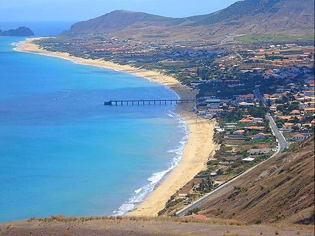 Vista da ilha do Alto dos moinhos11 - Férias em Porto Santo (Madeira) - Portugal