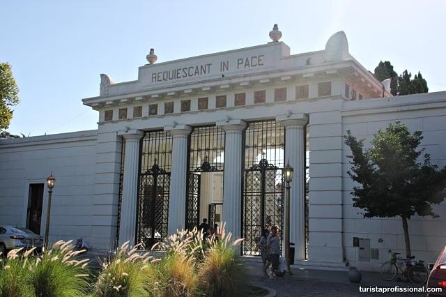 cemiterio de recoleta buenos aires - Roteiro de 3 dias em Buenos Aires: dia 3
