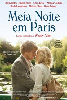 Meia noite em paris poster1 - Filmes que te farão viajar por Paris!!!
