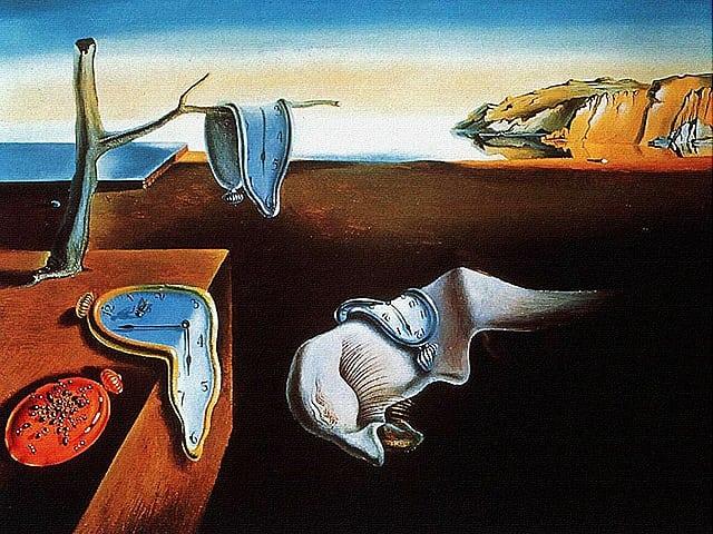 salvador dali a persistencia da memoria - MoMA de Nova York