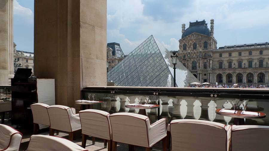 cafe marly paris louvre - Os 10 melhores cafés em Paris
