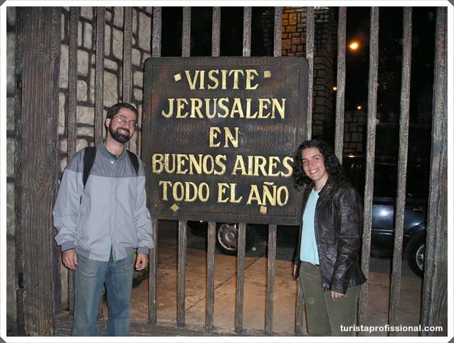 """Buenos Aires - Visitando a """"Tierra Santa"""" em Buenos Aires"""