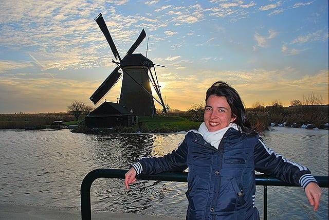 DSC 0534 - Kinderdijk: os verdadeiros moinhos holandeses
