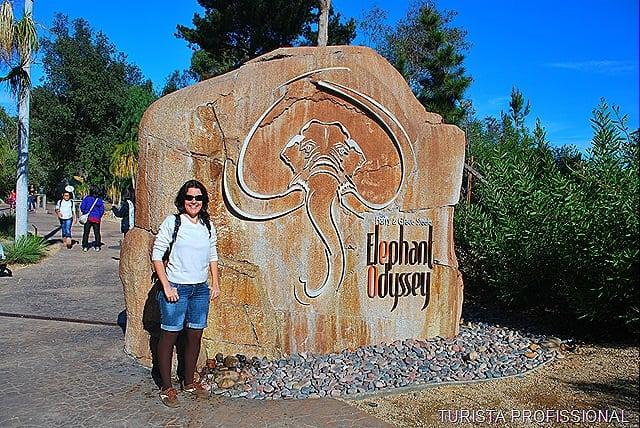 elefante no zoológico de san diego
