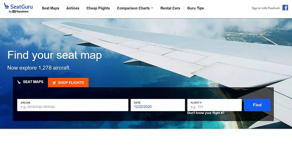 Seat Guru - Seat Guru: como escolher o melhor assento do avião