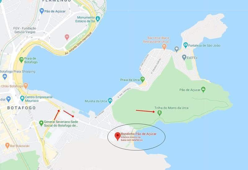 como chegar ao pao de acucar 1 - Como chegar ao Pão de Açúcar - Rio de Janeiro