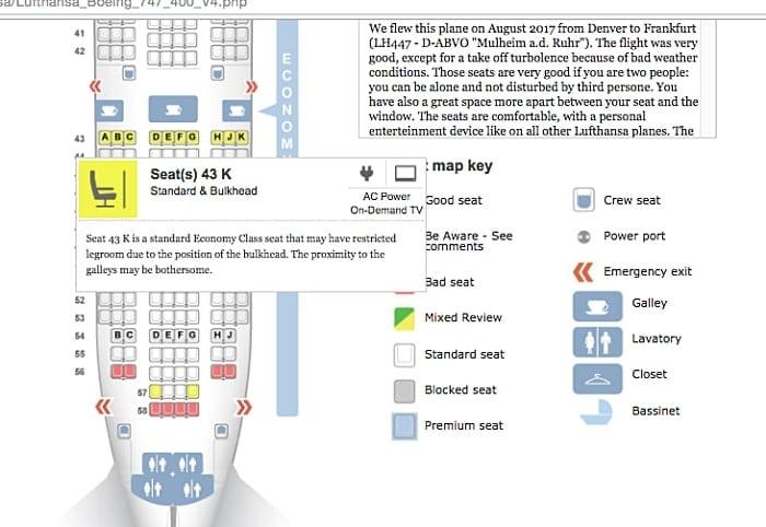 dicas seatguru - SeatGuru: como escolher o melhor assento do avião