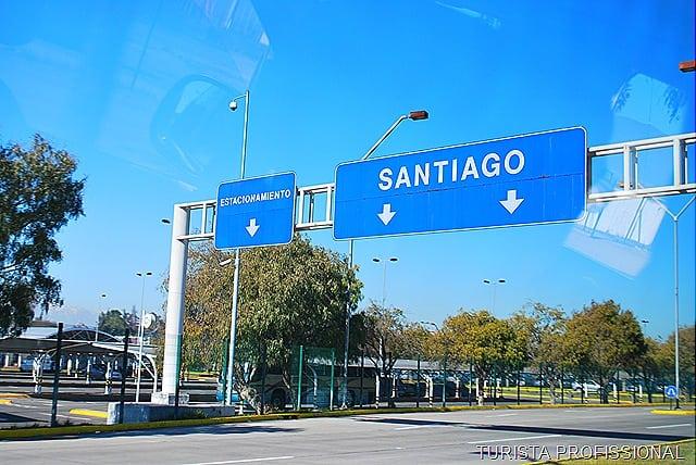 ChileeBsAs3 - Como sair do aeroporto de Santiago do Chile