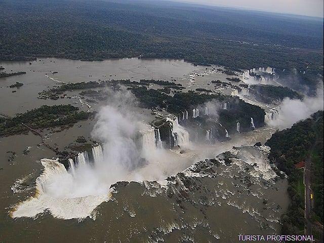 Foz do Iguaçu lado brasileiro