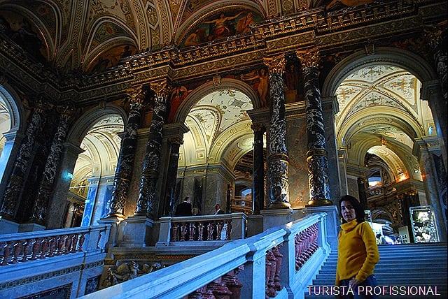 DSC 0114 - Visitando o Museu de História da Arte em Viena