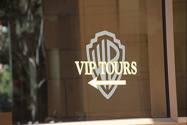 Visitando os estúdios da Warner Bros na Califórnia