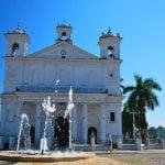 igreja de Suchitoto em el Salvador