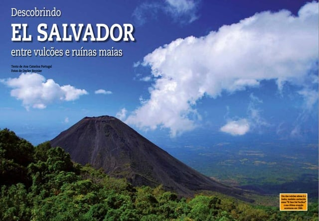 matéria sobre El Salvador