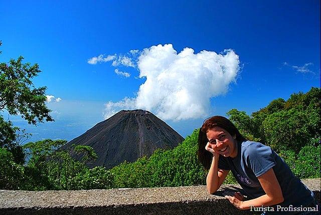 Complexo dos Vulcões em El Salvador
