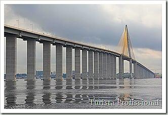 Ponte sob o rio Negro