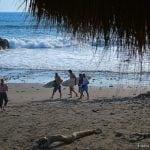 praia de surf em El Salvador