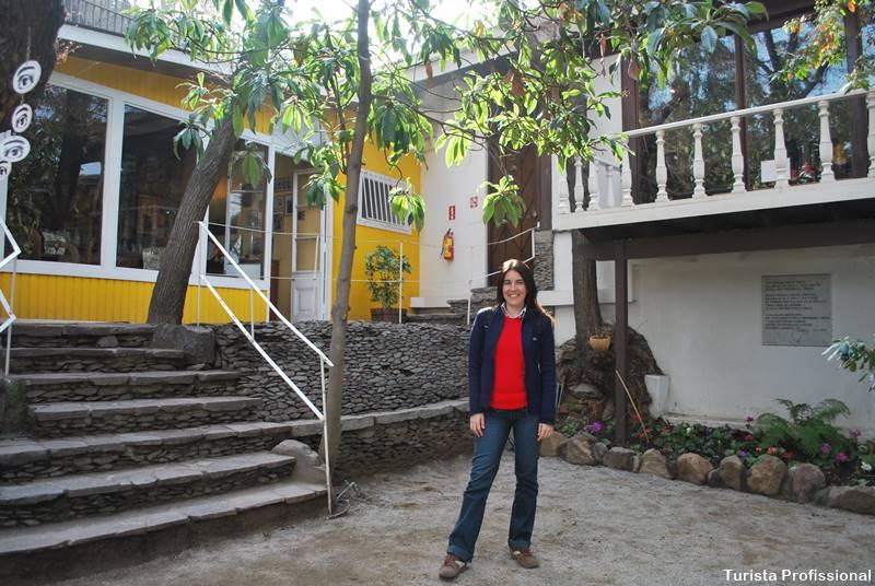 jardim da casa de Neruda
