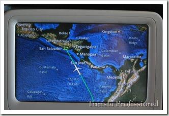 Vôo de Lima para San Salvador