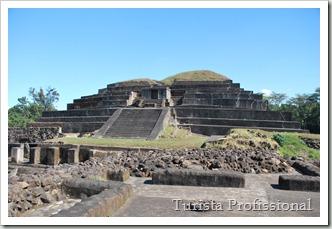 El Salvador - Sítio Arq. Tazumal