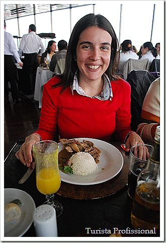 O Restaurante Giratório de Santiago do Chile