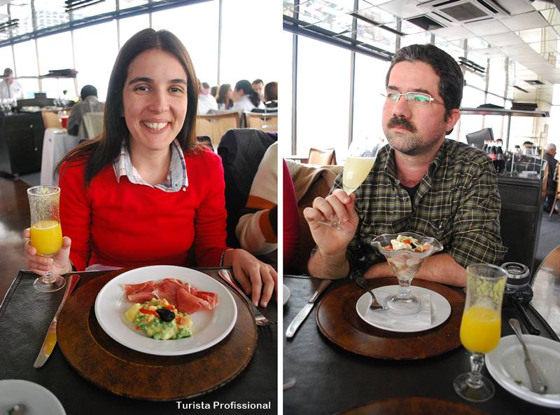 Restaurante Giratorio Santiago Chile