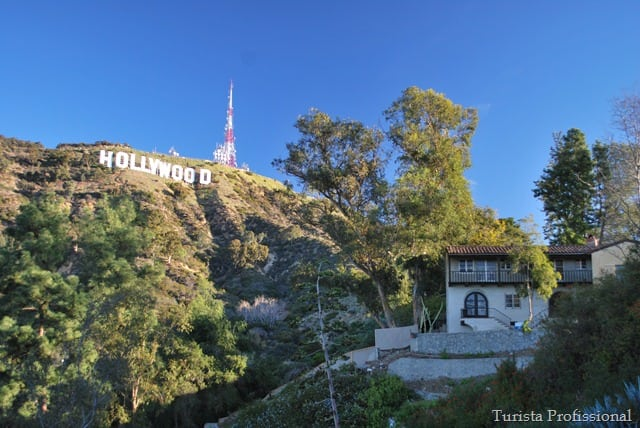 DSC 00291 - Como chegar nas letras de Hollywood
