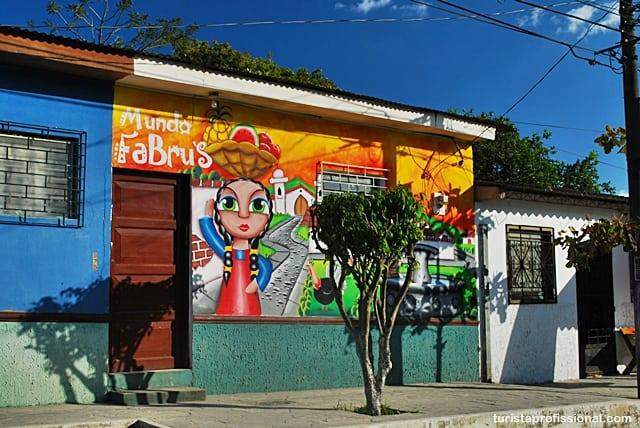 atrações turísticas - Olhares | Ataco, a cidade da cor e do grafite