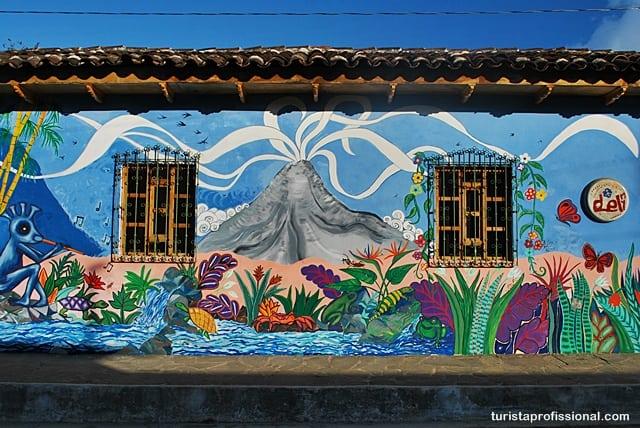 o que visitar em - Olhares | Ataco, a cidade da cor e do grafite