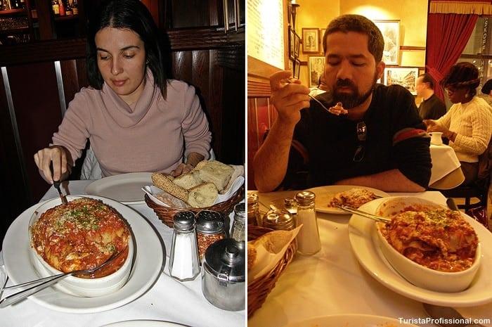 turista profissional 2 - Carmine's em Nova York: um restaurante para te surpreender!