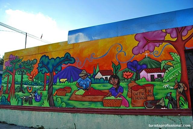 turista profissional - Olhares | Ataco, a cidade da cor e do grafite