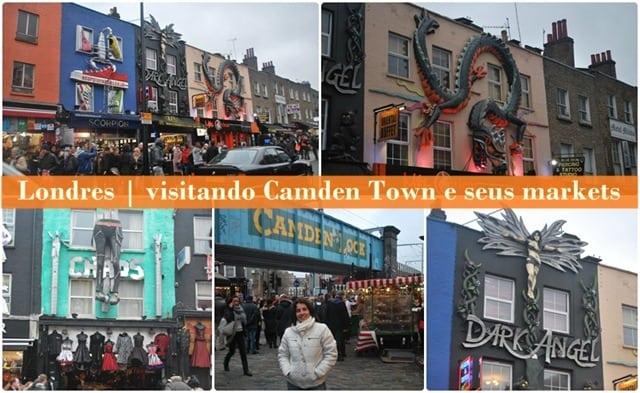 CandemT2 - Visitando Camden Town e seus markets