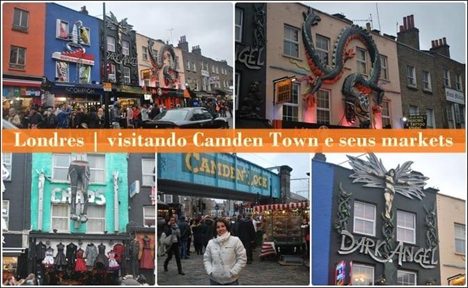 Londres | visitando Candem Town e seus markets