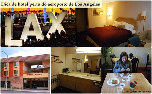 DicadehotelpertodoaeroportodeLosAngeles - Dica de hotel perto do aeroporto de Los Angeles: Hollywood Inn Express LAX