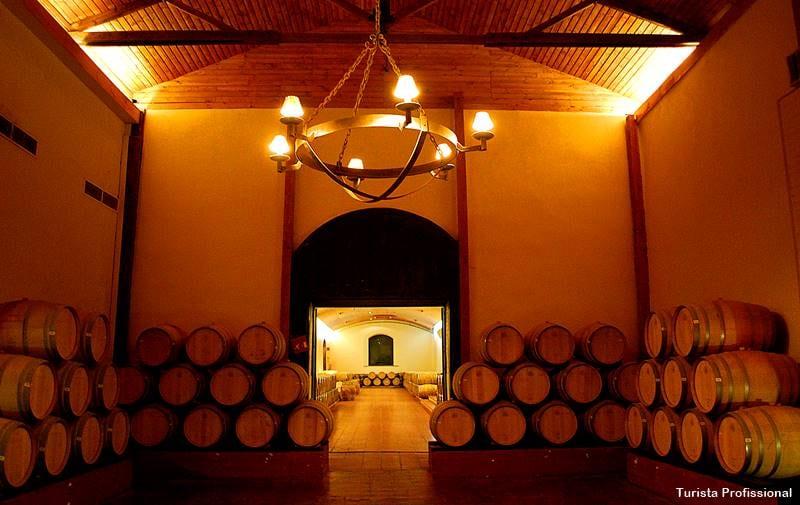Barris da vinícola Concha y Toro