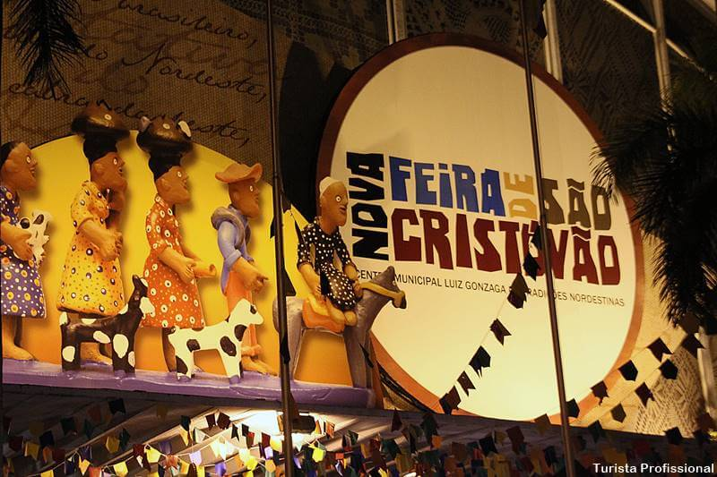 como chegar a feira de são cristóvão