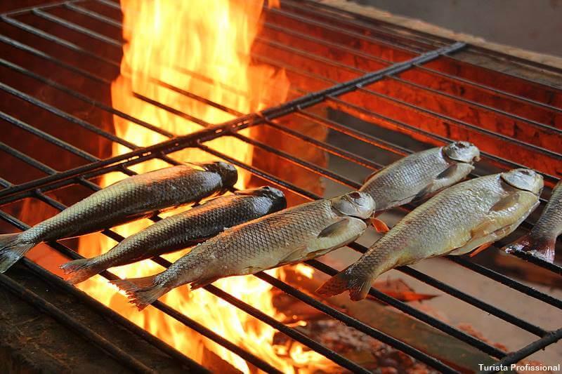 peixe na brasa em Manaus