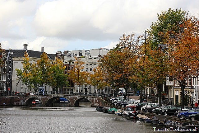 Uma tarde em Amsterdam