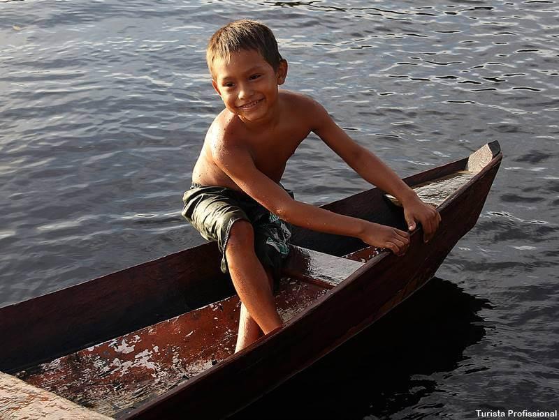 moradores do rio amazonas