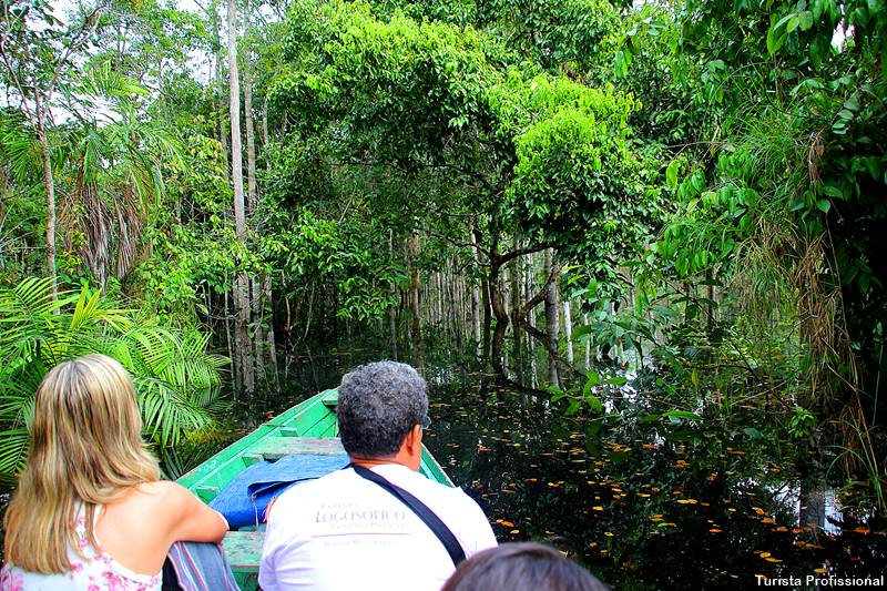passeio de barco no rio Amazonas