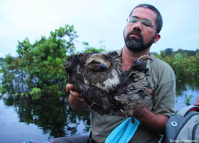 Viagem sobre a Amazônia