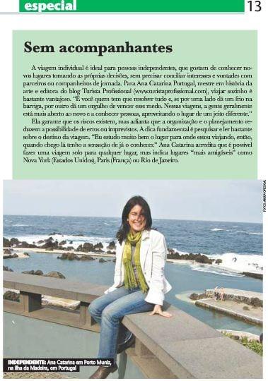 Entrevista para a Folha Universal