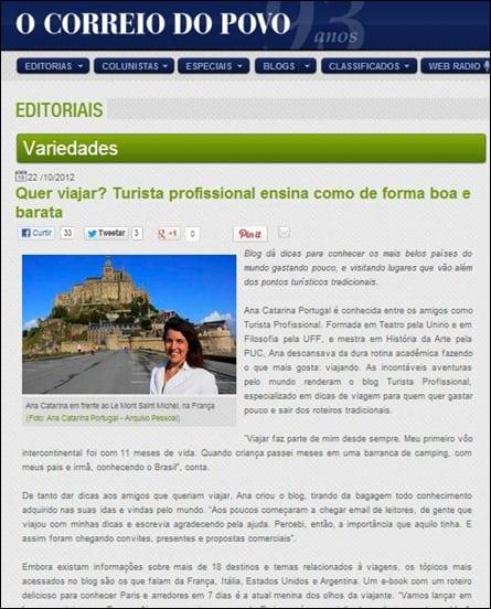 Jornal - Na Mídia